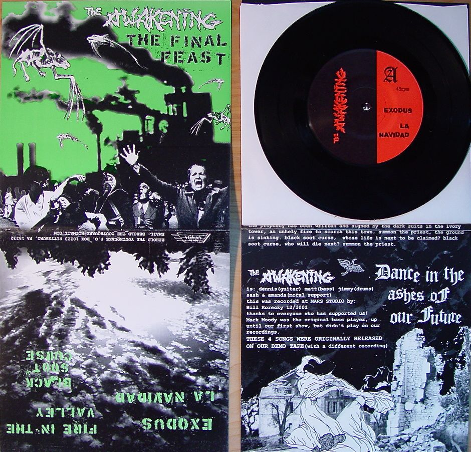 "Final Feast 7"" on Behold the Youthquake Records"